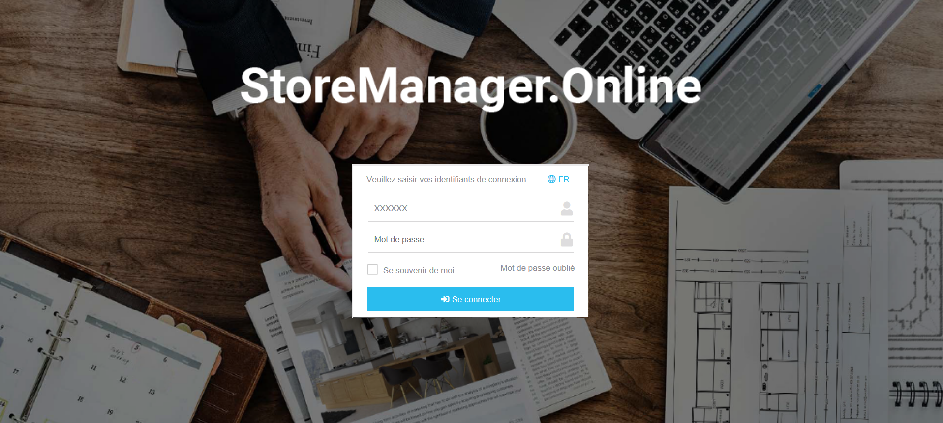 Page_connexion_storemanager