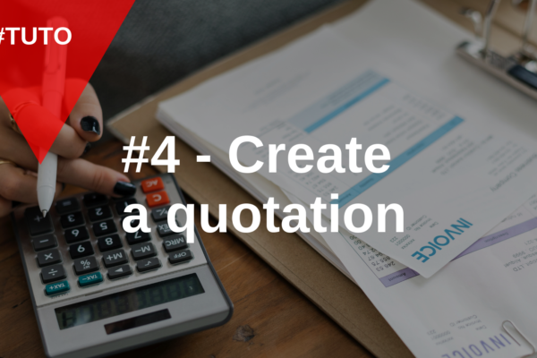 📄 #4 Create a quotation