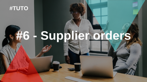 🧾 #6 Supplier orders