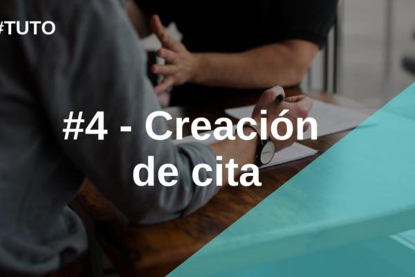 📋 #4  Creación de cita