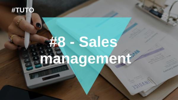 📊 #8 Sales management