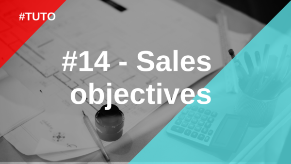 📉 #14 Sales objectives