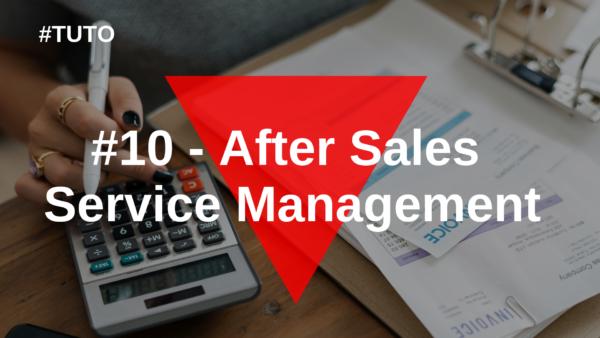 🔄  #10 After Sales Service Management