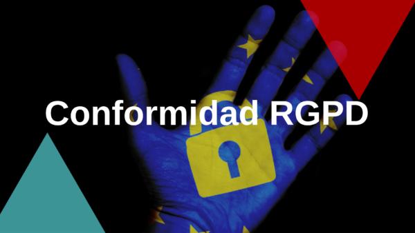 🔒 Conformidad RGPD