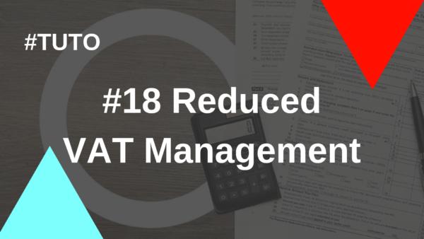 #18 Reduced VAT Management